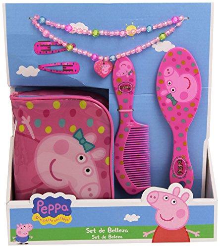 Peppa pig trousse de toilette peigne brosse et autres - Jeux de peppa ...