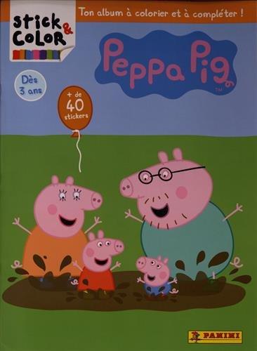Livre stick color peppa pig 2017 france jeux - Jeux de papa pig ...