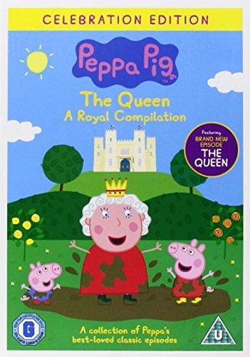Dvd peppa pig the queen royal compilation volume 17 - Jeux de papa pig ...