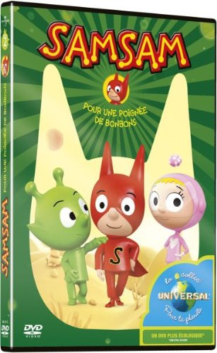 dvd samsam 9 pour une poign 233 e de bonbons jeux