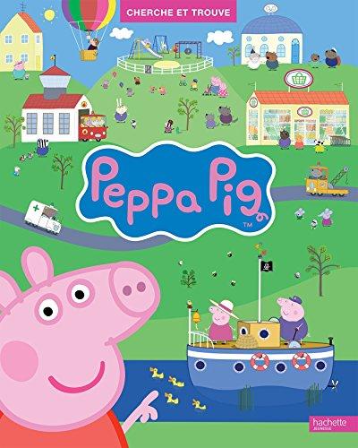 livre peppa pig cherche et trouve france jeux. Black Bedroom Furniture Sets. Home Design Ideas