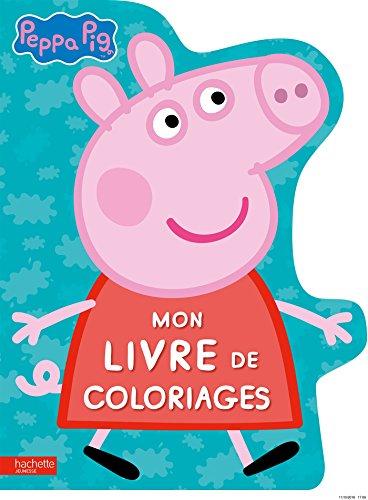 Livre peppa pig mon livre de coloriages france jeux - Jeux de papa pig ...