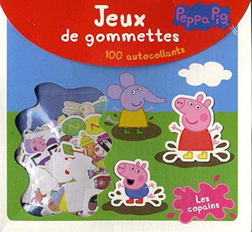 Livre peppa pig les copains jeux de gommettes france jeux - Jeux de papa pig ...