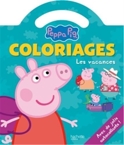 Livre peppa pig coloriages poign e les vacances - Jeux de papa pig ...