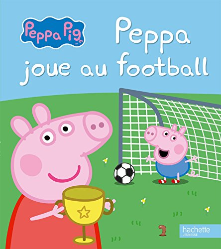 livre peppa pig peppa joue au football france jeux. Black Bedroom Furniture Sets. Home Design Ideas
