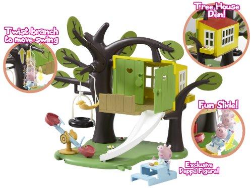 Peppa pig treehouse playset la cabane dans l 39 arbre for Acheter cabane dans les arbres