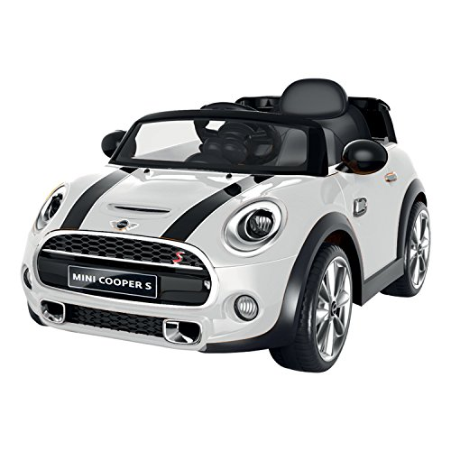 voiture t l command e voiture lectrique mini cooper blanc france jeux. Black Bedroom Furniture Sets. Home Design Ideas