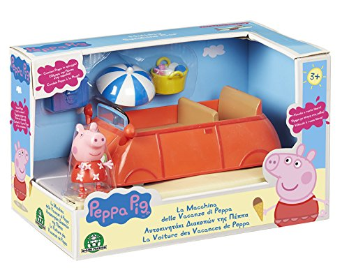 peppa pig pph00 la voiture des vacances avec 1 personnage france jeux. Black Bedroom Furniture Sets. Home Design Ideas