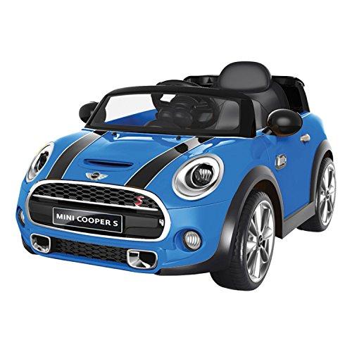 voiture t l command e voiture lectrique mini cooper bleu france jeux. Black Bedroom Furniture Sets. Home Design Ideas