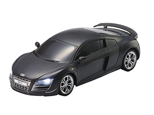 voiture t l command e revell 24654 voiture audi r8 echelle 1 24 noir m t france jeux. Black Bedroom Furniture Sets. Home Design Ideas