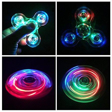 hand spinner fidget toy led light spinner fidget jouet tri fidget spinner finger pour adultes. Black Bedroom Furniture Sets. Home Design Ideas