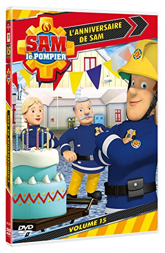 dvd sam le pompier volume 15 l 39 anniversaire de sam france jeux. Black Bedroom Furniture Sets. Home Design Ideas