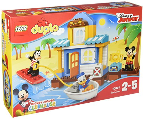 lego 10827 duplo jeu de construction la maison la plage de mickey et ses amis france. Black Bedroom Furniture Sets. Home Design Ideas