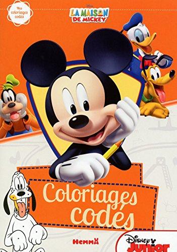 Livre la maison de mickey mes coloriages cod s france jeux - Coloriage la maison de mickey ...