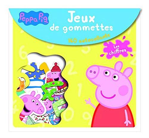 Livre les chiffres peppa pig jeux de gommettes france jeux - Jeux de papa pig ...