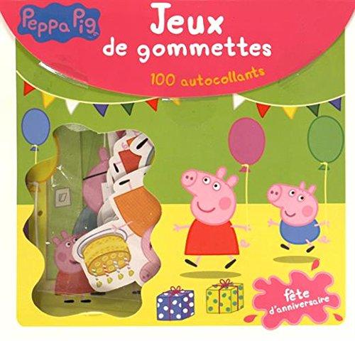 Livre peppa pig f te d 39 anniversaire jeux de gommettes - Jeux de papa pig ...