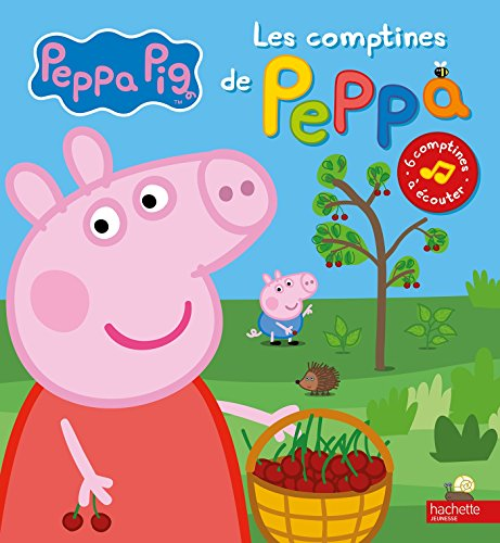 livre peppa pig les comptines de peppa france jeux. Black Bedroom Furniture Sets. Home Design Ideas