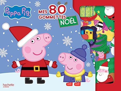 Livre peppa pig mes 80 gommettes de no l france jeux - Peppa pig francais noel ...