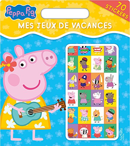 livre peppa pig mes jeux de vacances france jeux. Black Bedroom Furniture Sets. Home Design Ideas