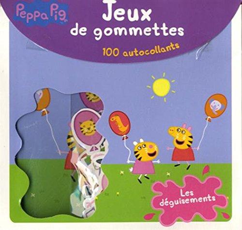 Livre peppa pig les d guisements jeux de gommettes - Jeux de papa pig ...