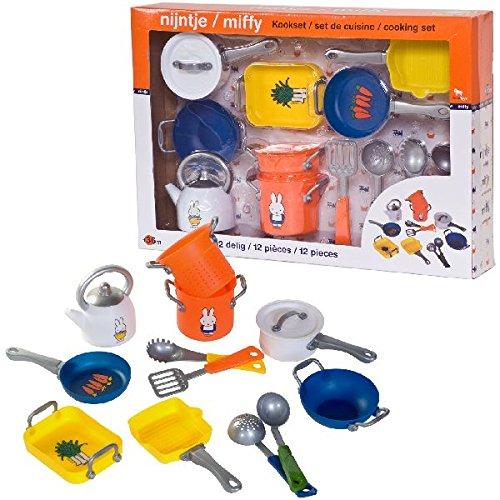 miffy ensemble d 39 ustensiles de cuisine pour enfants 12 pcs france jeux. Black Bedroom Furniture Sets. Home Design Ideas
