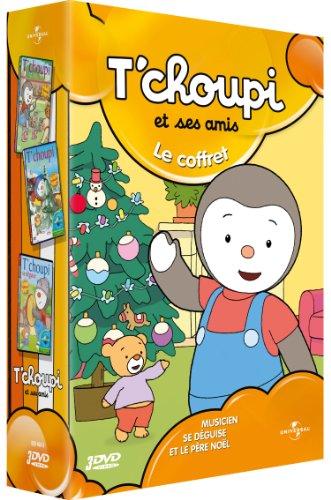 Dvd t 39 choupi et ses amis le coffret se d guise et le p re no l musicien france jeux - Tchoupi et le poney ...