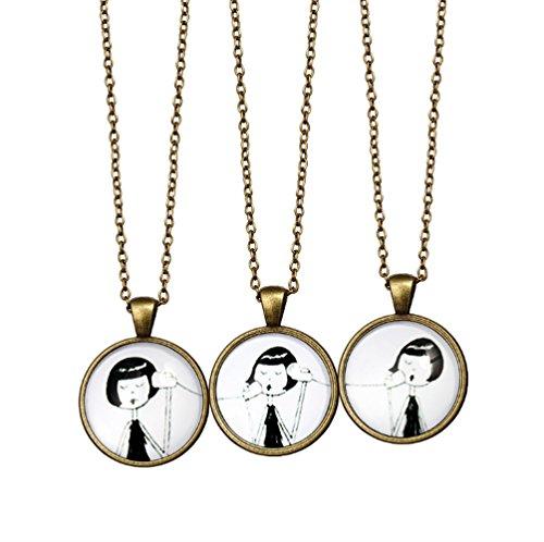 Retro original personnalise bijoux ensemble pas cher cadeau ideal - Deco vintage pas cher ...