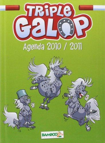Livre Agenda triple galop - France Jeux