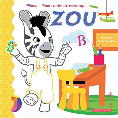Livre Mon Carnet De Coloriages Zou France Jeux