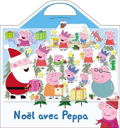Livre no l avec peppa avec 20 stickers mousse et 1 beau - Peppa pig francais noel ...