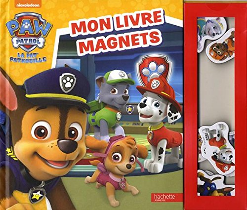 livre paw patrol la pat 39 patrouille mon livre magnets france jeux. Black Bedroom Furniture Sets. Home Design Ideas