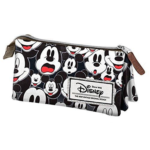 Mickey et ses amis trousse scolaire triple vintage black mickey mouse disney france jeux - Mickey mouse et ses amis ...