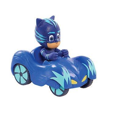 pj masks petite figurine dans v hicule chat bolide et yoyo mini bleu france jeux. Black Bedroom Furniture Sets. Home Design Ideas