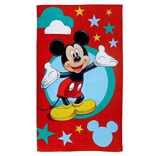 disney mickey mouse serviette sortie drap de bain enfants etoile taille 70x120 cm france jeux. Black Bedroom Furniture Sets. Home Design Ideas