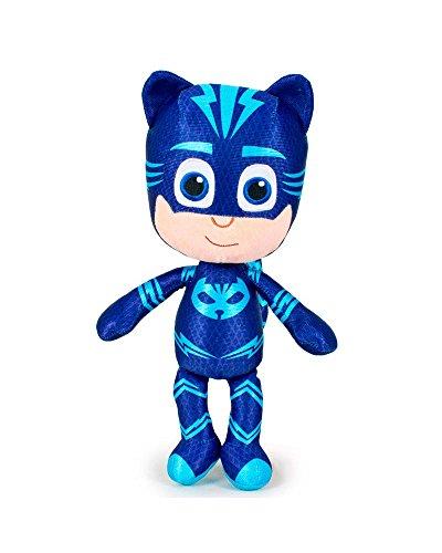 pj masks pyjamasques 5962 peluche 34cm figurine qualit super soft yoyo bibou gluglu. Black Bedroom Furniture Sets. Home Design Ideas