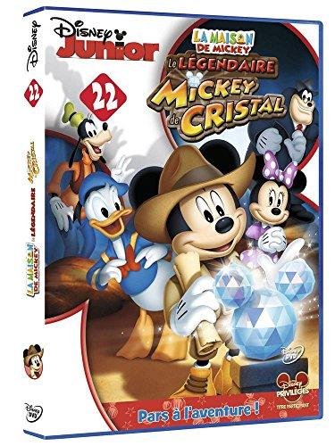 dvd la maison de mickey 22 le l gendaire mickey de cristal france jeux. Black Bedroom Furniture Sets. Home Design Ideas