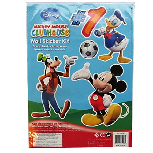 Gros paquet d 39 autocollants de d coration murale mickey mouse et ses amis par disney france - Mickey mouse et ses amis ...