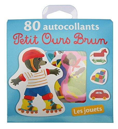 livre les jouets 80 autocollants petit ours brun. Black Bedroom Furniture Sets. Home Design Ideas