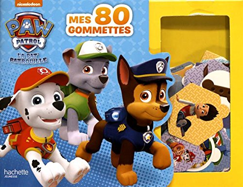 livre paw patrol la pat 39 patrouille mes 80 gommettes france jeux. Black Bedroom Furniture Sets. Home Design Ideas