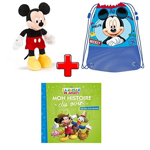 Pack disney mickey mouse mini peluche sac de gym for Acheter une maison en france
