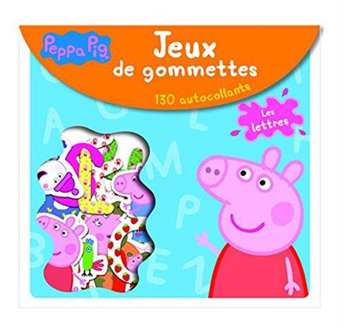 Livre les lettres peppa pig jeux de gommettes france jeux - Jeux de papa pig ...