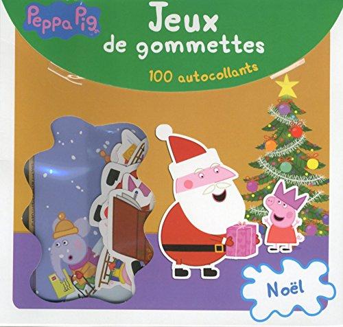 Livre peppa pig no l jeux de gommettes france jeux - Peppa pig francais noel ...