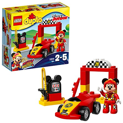 lego duplo disney la voiture de course de mickey 10843 jeu de construction france jeux. Black Bedroom Furniture Sets. Home Design Ideas