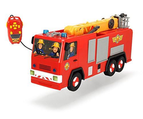 Dickie jouet de 203099001 camion de pompier fireman sam hero jupiter france jeux - Camion pompier sam ...
