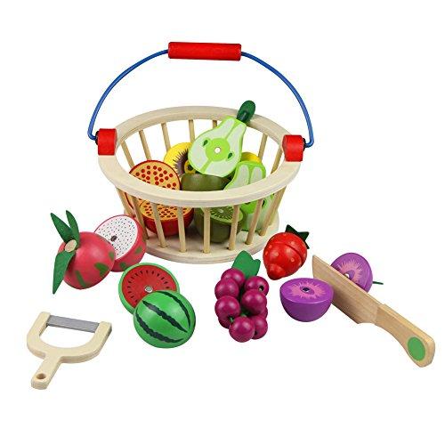 fruits et l gumes jouets bois magnetique fruits legumes a. Black Bedroom Furniture Sets. Home Design Ideas