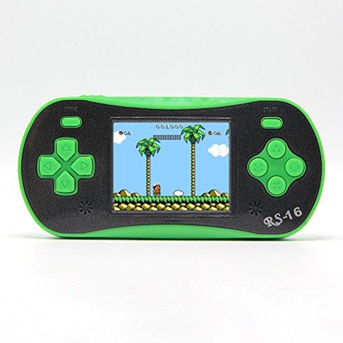 6 3 cm lcd portable handheld console de jeu vid o r tro jeu de lecteur handheld int gr 260 jeux - Console de jeux pour enfant ...