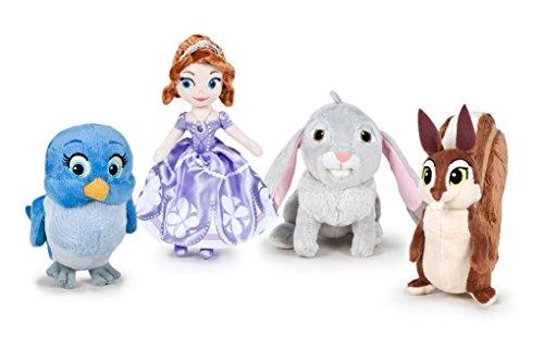 Princesse sofia pack 4 peluches qualit super soft - Lapin princesse sofia ...