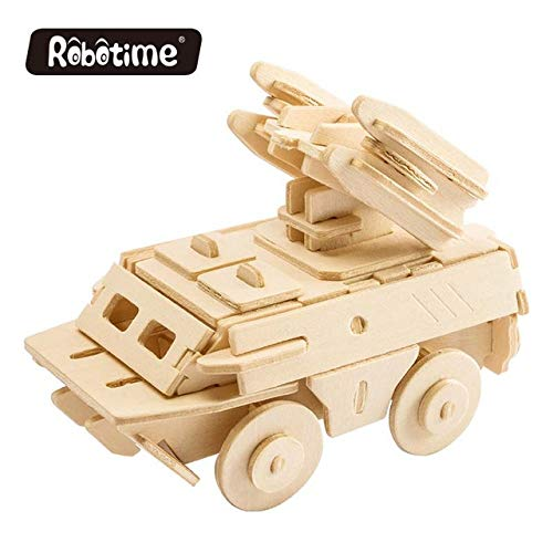 gsydpt robotime bricolage 3d en bois camion de voiture puzzle jeu jouet construction mod le kits. Black Bedroom Furniture Sets. Home Design Ideas
