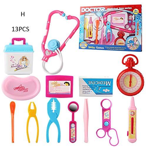 4e7c87e634f2a7 Livre Jouet Enfant Docteur Kit Médical Garçons et Filles Accessoires Docteur  en Simulation Infirmière Toy Set Maison de Jeux Pour Enfants Docteur Jouet  ...