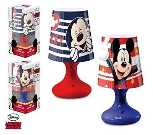 Livre Lampe Enfant Mickey De Disney Mouse Chambre Chevet En Boule gY7ybf6